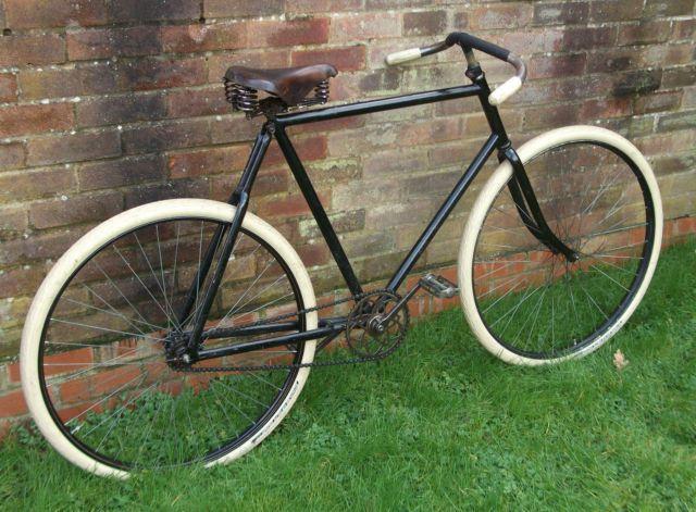Vintage bike saddles right! excellent