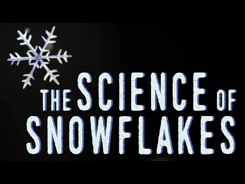 """New TED-Ed Video & Lesson: """"The science of snowflakes"""" 