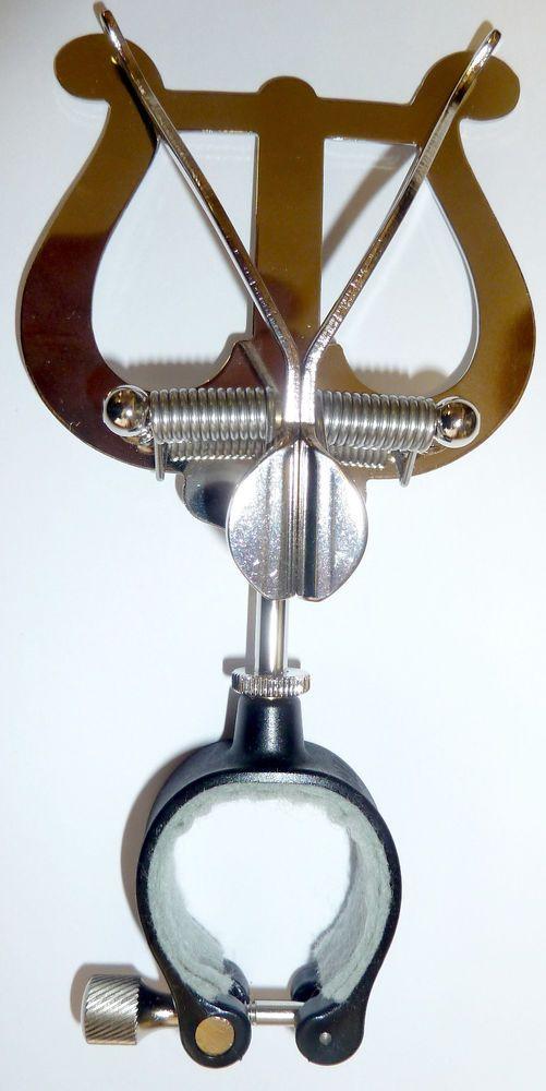 Marschgabel, Lyra, für alle Klarinetten, Fabrikat: Riedl, mit flexieblem Ring
