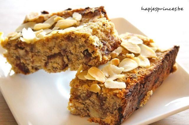 Gezond tussendoortje: Dadel-quinoarepen | Hapjes Princess: Don't eat less - Eat better | Bloglovin'