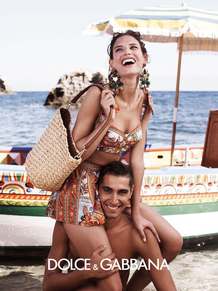 Dolce & Gabbana ad campaign 2013 shot in Taormina