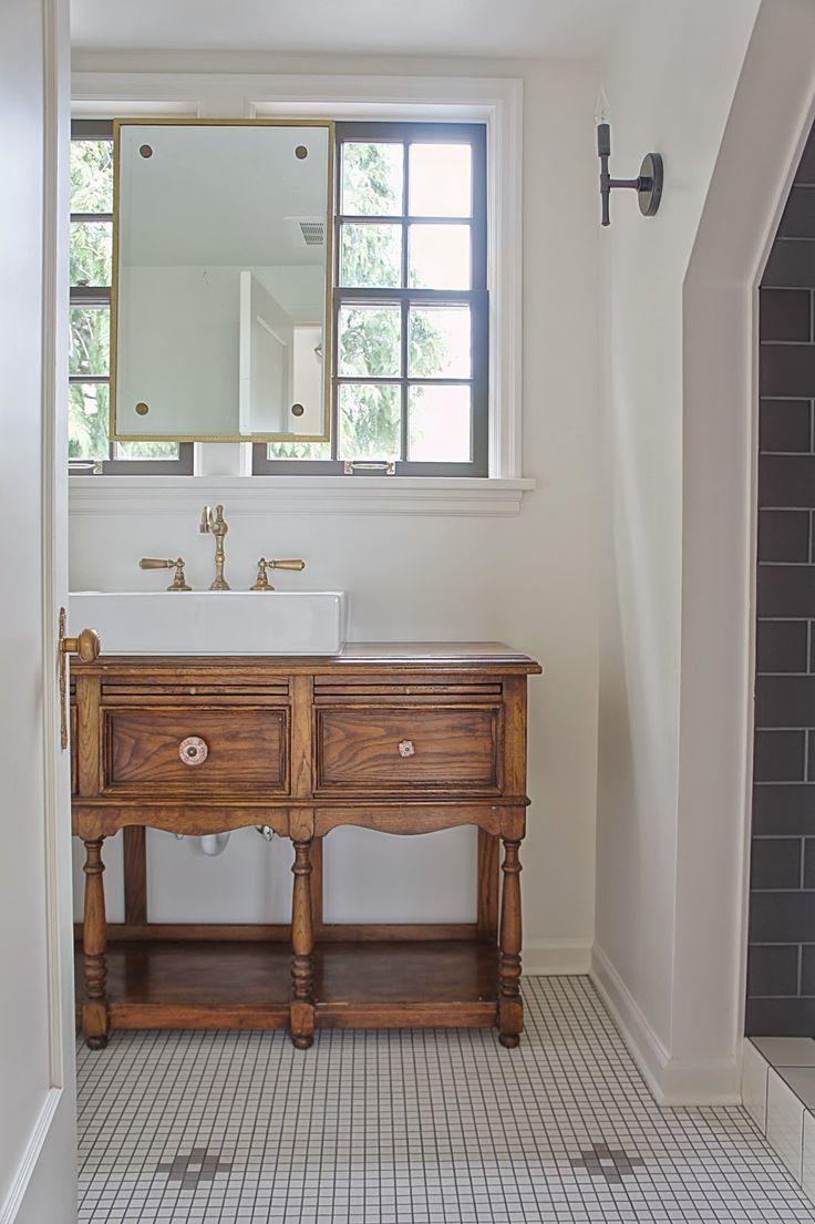 Traditional Vanity Bathroom: Chic Design Investments: Modern Traditional Attic Bathroom