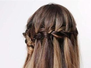 How to do a waterfall plait