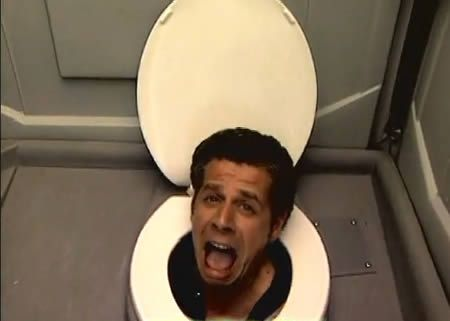 10 Of the Best Prank Videos Ever (prank videos, best prank) - ODDEE  photo of your face pops out of loo toilet