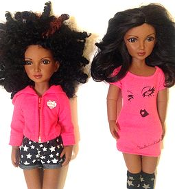 Kaila Bradley- African American doll based on Double Dutch Dolls book character