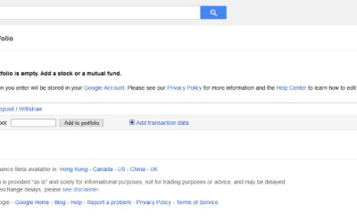 How To Use Google Finance Portfolio #idbi #home #finance http://finance.remmont.com/how-to-use-google-finance-portfolio-idbi-home-finance/  #google finance portfolio # How To Use Google Finance Portfolio Whether you're a professional investor or someone wanting to make their money work a little harder, tracking a range of investments can be a bit of a pain. If you use multiple brokers, funds or accounts, keeping track of them all can be even more […]