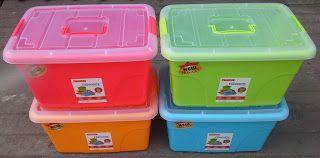 Selatan Jaya distributor barang plastik Surabaya: kontainer favourite box plastik kode L16 merk Masp...