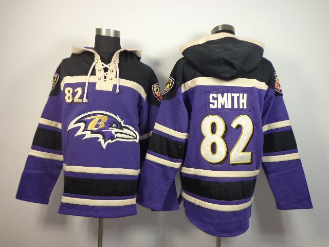 NFL Jersey's Preschool Baltimore Ravens Torrey Smith Nike Purple Game Jersey
