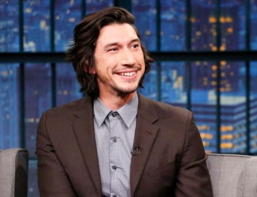Adam Driver being adorable during interviews