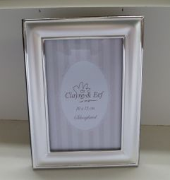 Clayre & Eef Silverplated fotolijst mat afmeting 10x15