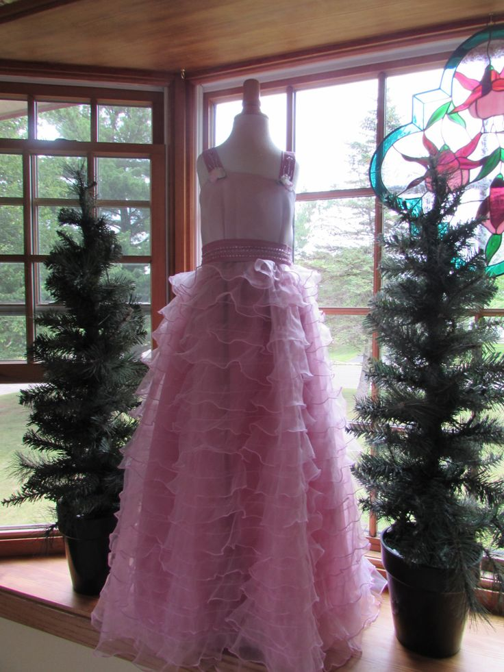 Flower Girl Gowns, formal wear, girls dresses by FairydustStitches on Etsy