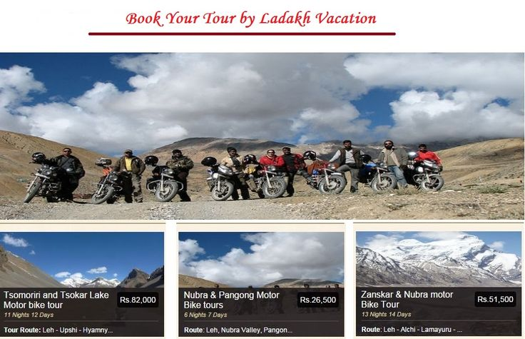 If you are looking best online booking tour operators in Ladakh then you have reached right place. We offer online book all customize tour packages of Ladakh. To book a Ladakh Holidays Packages, visit: http://www.ladakhvacation.net/