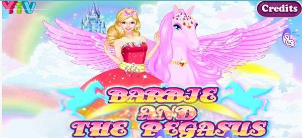 Барби и Пегас - играть онлайн бесплатно в Barbie And The ...