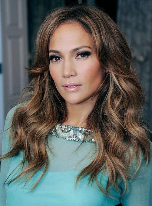 Jennifer Lopez Mocha Waves Jennifer Lopez Hairstyles In 2018