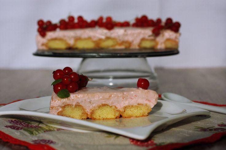 Ríbezľová torta s bielou čokoládou - Powered by @ultimaterecipe