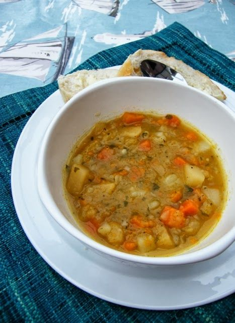 Scottish Tattie, Neep and Carrot Soup. A traditional winter soup from Scotland, full of seasonal vegetables and packed with flavour. A great comfort dish for winter.