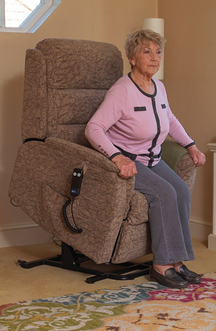 Excellent for the smaller user the Oslo Petite has an easy to use rise feature that helps those who struggle to stand up on their own.