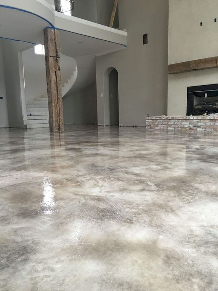 70 Smooth Concrete Floor Ideas for Interior Home (30 in