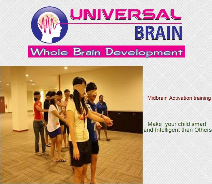 Midbrain activation training-make your child genius and smart
