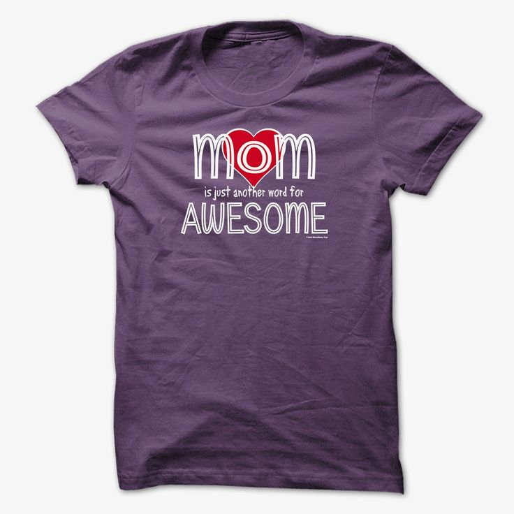 MOM is Just Another Word for AWESOME (Fun), Order HERE ==> https://www.sunfrog.com/LifeStyle/MOM-is-Just-Another-Word-for-AWESOME-Fun-Purple-42783491-Guys.html?9410, Please tag & share with your friends who would love it , #jeepsafari #christmasgifts #superbowl
