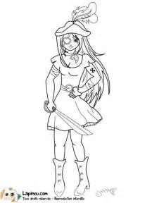 jeune femme pirate coloriages imprimer pour les enfants sur - Dessin De Pirate
