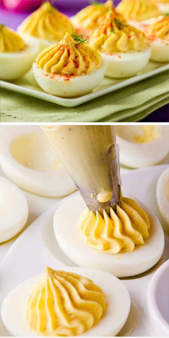Creamy Deviled Eggs | Easy Easter Appetizers for a Crowd | Easy Easter Food Ideas + Recipes