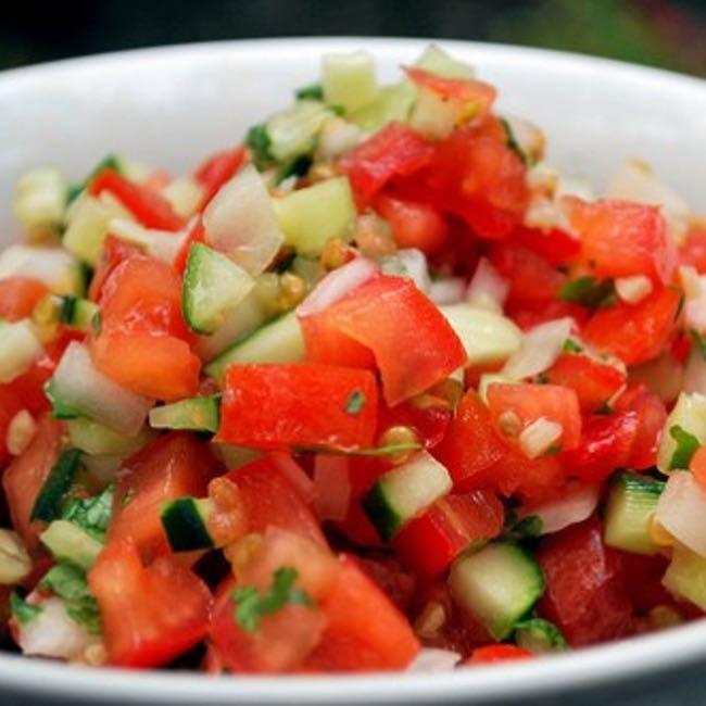 Baja Fresh Pico de Gallo is listed (or ranked) 1 on the list Baja Fresh Recipes