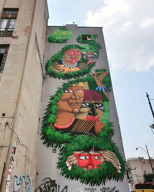Street Art In łódź Chidofajny Mexicanoenpolonia Mexicanosenpolonia Lodz Streetart Mural Polska Polonia Poland Street Art Art Mixed Media Art