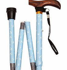Designer Folding Walking Stick Why do walking sticks have to be plain and boring? Created by an innovative British company that decided to transform the market, this folding stick is a fashion accessory rather than simply a necessi http://www.comparestoreprices.co.uk/other-products/designer-folding-walking-stick.asp