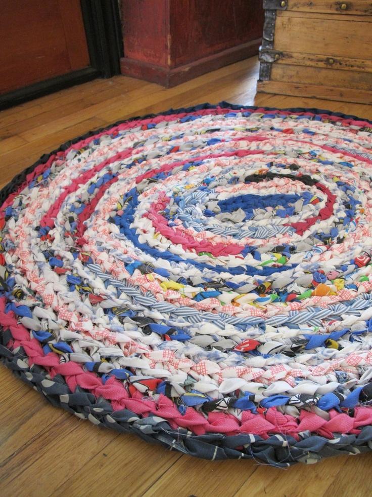 Crochet Rag Rug By Rebekahshaddy On Etsy 25 00 Usd Via