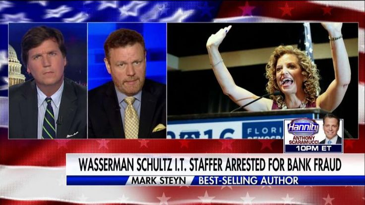 "Mark Steyn said all the aspects of ""collusion"" the Democrats and Robert Mueller are searching for regarding President Trump can be found in the ongoing story of a former IT staffer to Rep. Debbie Wasserman Schultz (D-Fla.)."