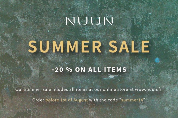 All items available at NUUN's webstore are reduced by 20% for the last weeks of July!  If you have been thinking of getting a NUUN design on your walls, now is the time to order.  You have until 31st of July to take advantage of the special offer!