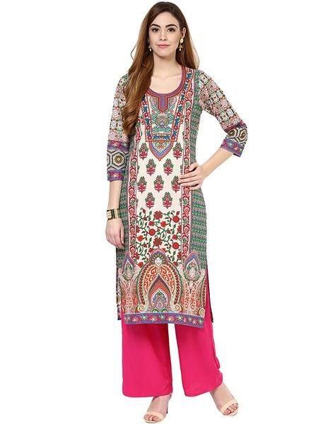 Festival Collection Cotton Kurta With Palazzo Casual Wear Printed Kurti With PlazoShop now the #shoponlinepalazzosuits #suitswithpalazzo #palazzosuits #buypalazzosuitsforwomen's only at Ladyindia.com https://ladyindia.com/collections/palazzo-suits