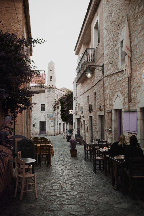 Areopolis, Mani, Greece- photo by ©Stephania Dapolla.Big town next to our village.