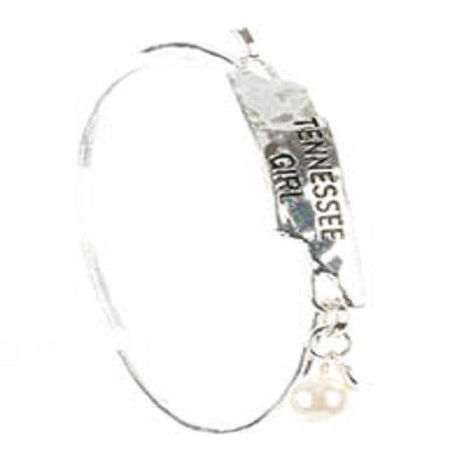 Silver Tennessee Girl Bangle