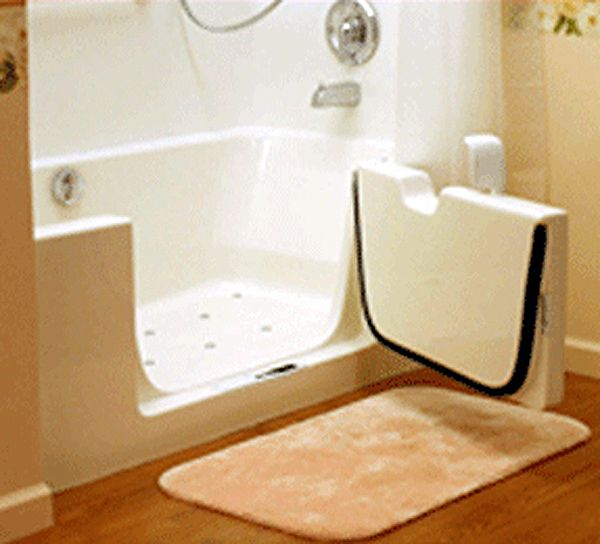 Replacement Doors For Walk In Tubs And Showers | Roll In Showers Walk In