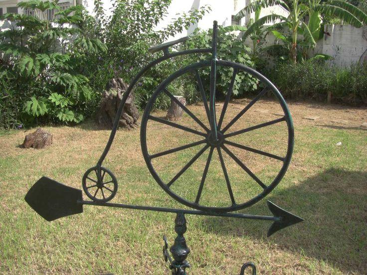 Veleta En Aluminio De Bicicleta Antigua O Monociclo Patinada - $ 2.199,00 en MercadoLibre