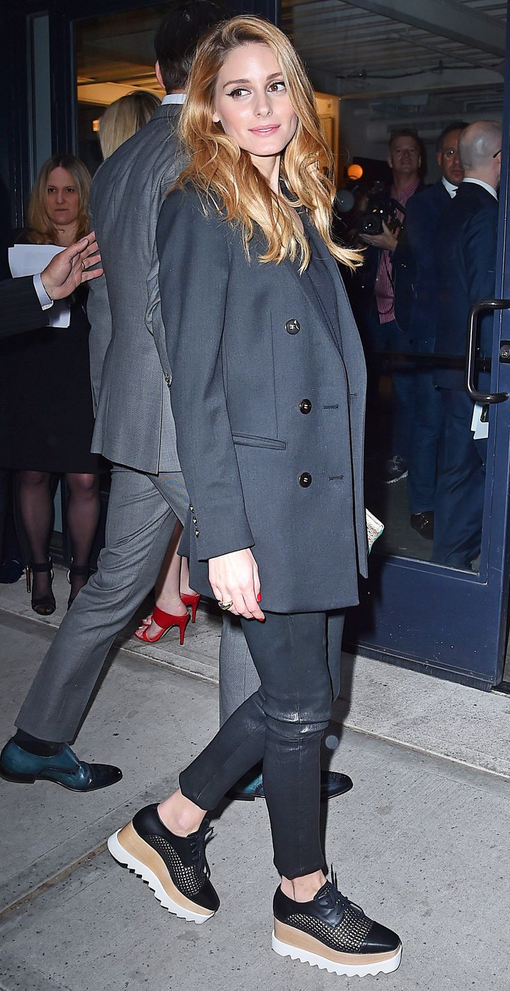 Olivia Palermo's Incredible Shoes Make Her Entire Outfit via @WhoWhatWearUK
