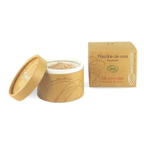 Transparentní hedvábný pudr Silk Powder Couleur Caramel