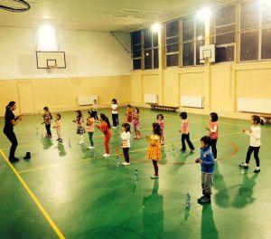 Copiii si momentul cursurilor de dans