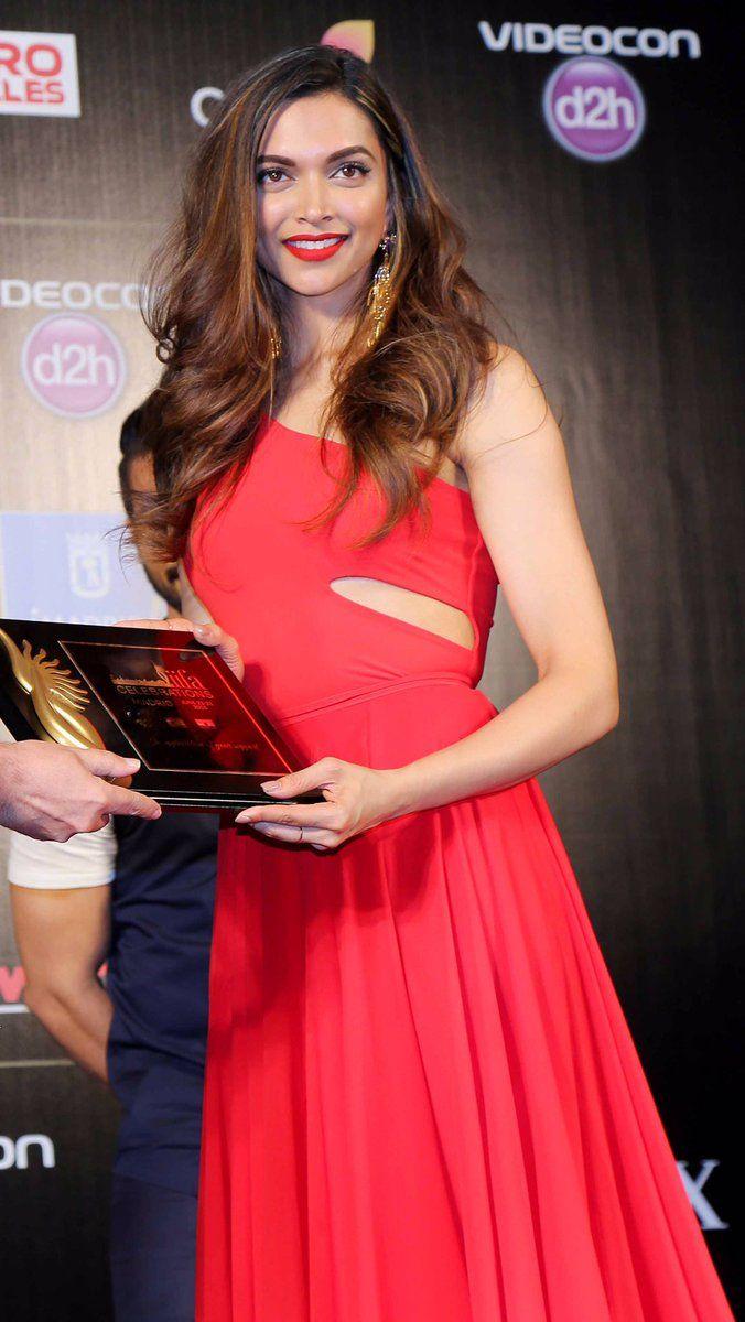Deepika Padukone at the launch of IIFA 2016