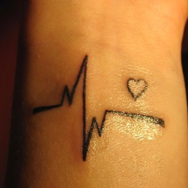 Nurse Tattoo Would Prefer An Upright T Wave However