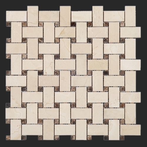 38 Best Crema Marfil Polished Marble Mosaic Tiles Images On Pinterest Mosaic Tiles Marble
