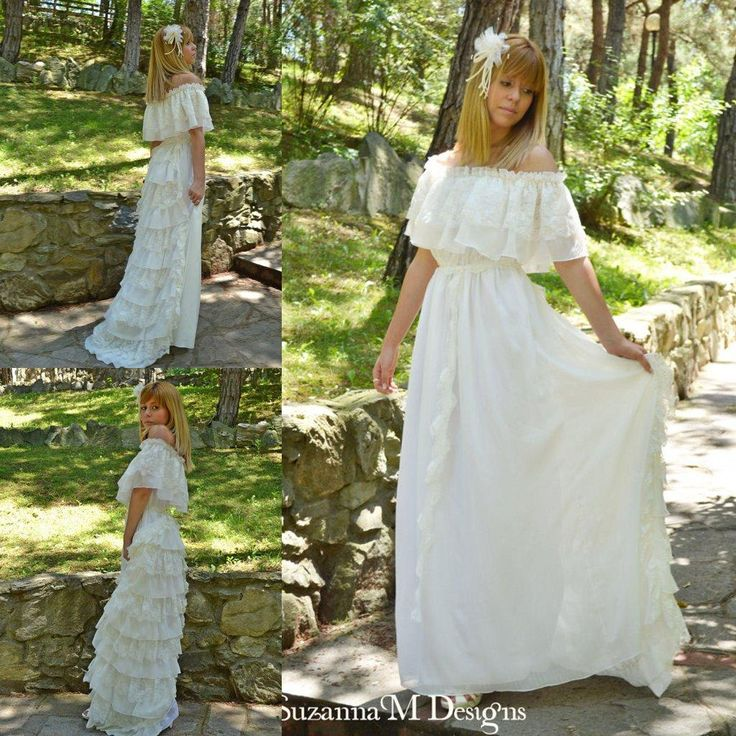 Best Of Vintage Hippie Wedding Dresses Check more at http://svesty.com/vintage-hippie-wedding-dresses/