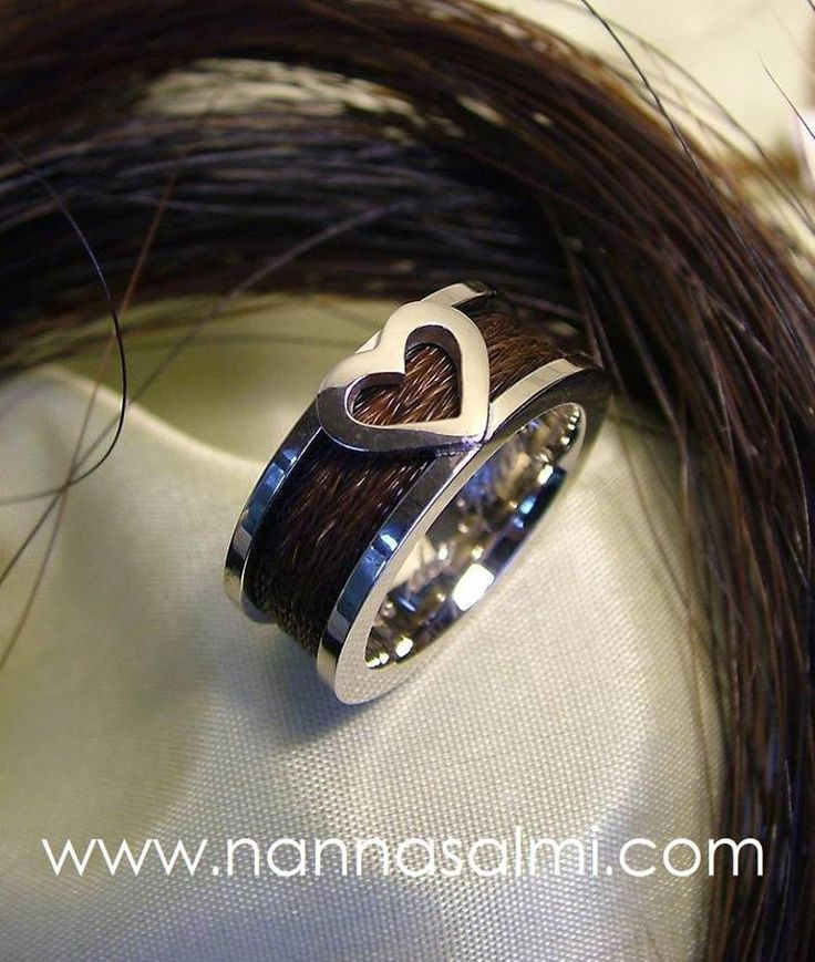 Ring Carus, white gold, 6mm ribbon 'road' For Lidia, Hungary