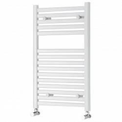 White Heated Towel Rail 800 x 450