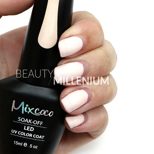 #Mixcoco #gellak #015 'French Kiss' verkrijgbaar via www.beautymillenium.nl - prijs €14,95 ✨ minimaal 2 weken lang prachtig gelakte #nagels met #MixcocoGellak #nails #gelnails #manicure #gelmanicure #nailart #gellish #gellac #gelish #gelnagellak #mani #nailartclub #beauty #nailpolish #nudenails #beigenails