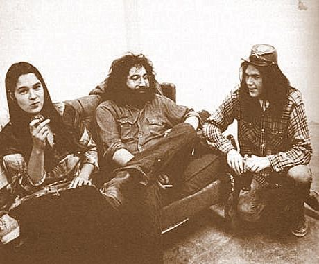 Mountain Girl, Jerry Garcia + Neil Young
