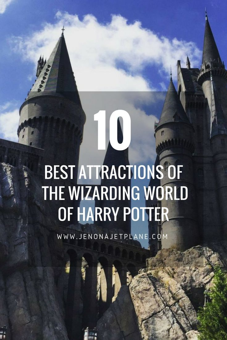 10 must-see attractions at the Wizarding World of Harry Potter in Universal Studios, Orlando. You can't leave Harry Potter World without riding the Hogwarts Express, drinking butter and visiting Hogwarts Castle! Here's the best things to do at the Harry Potter theme park.