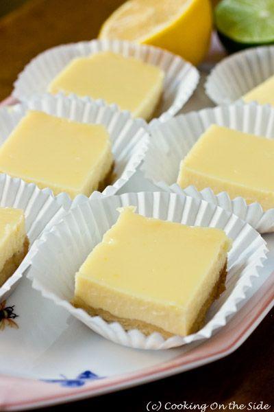 Creamy: Lemon-Lime Bars